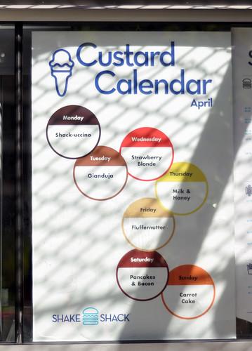 Custard Calendar