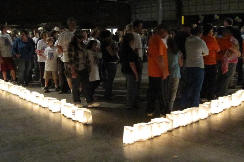 Luminaria Ceremony Lap