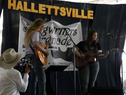 Hallettsville Songwriter Serenade
