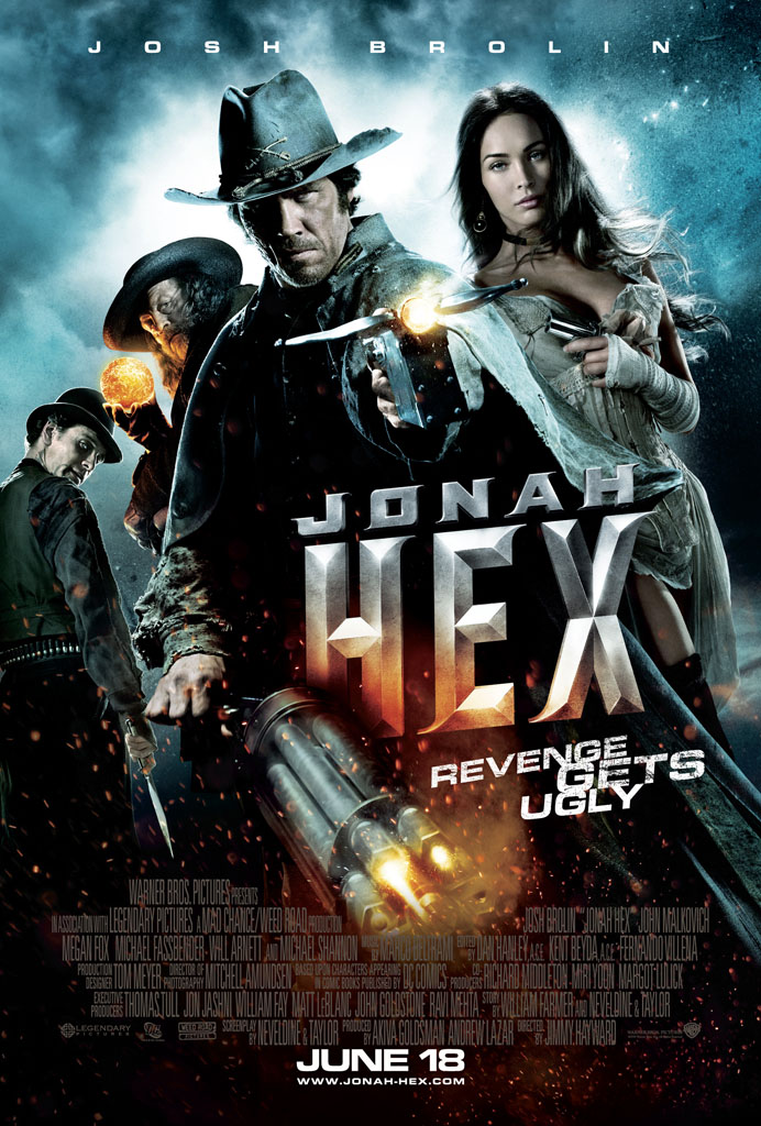 Jonah Hex poster Dragon Ball