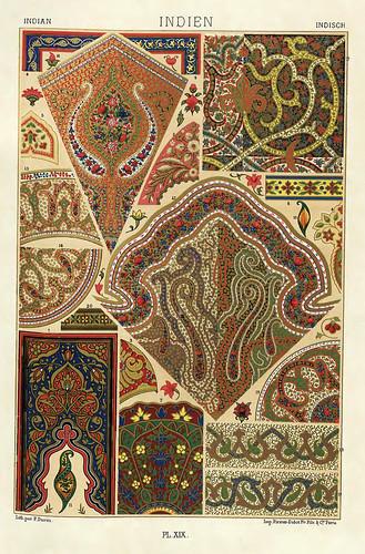 007-Ornamentos policromados indues-Das polychrome Ornament…1875