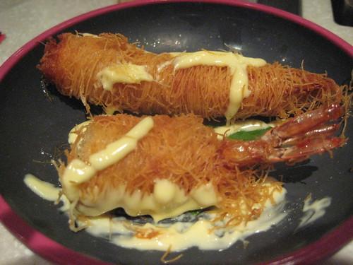 hairy prawn