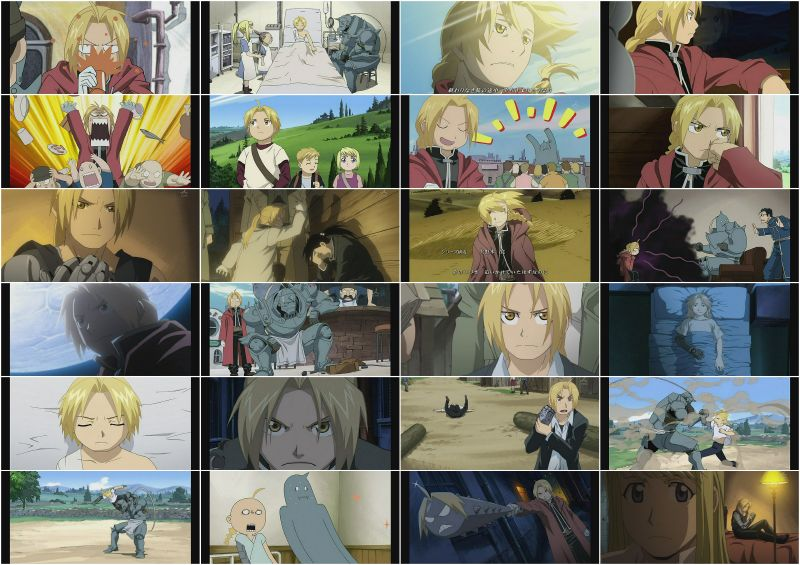Edward Elric Collage