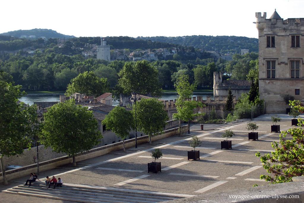Vue depuis l'esplanade de la Cathédrale