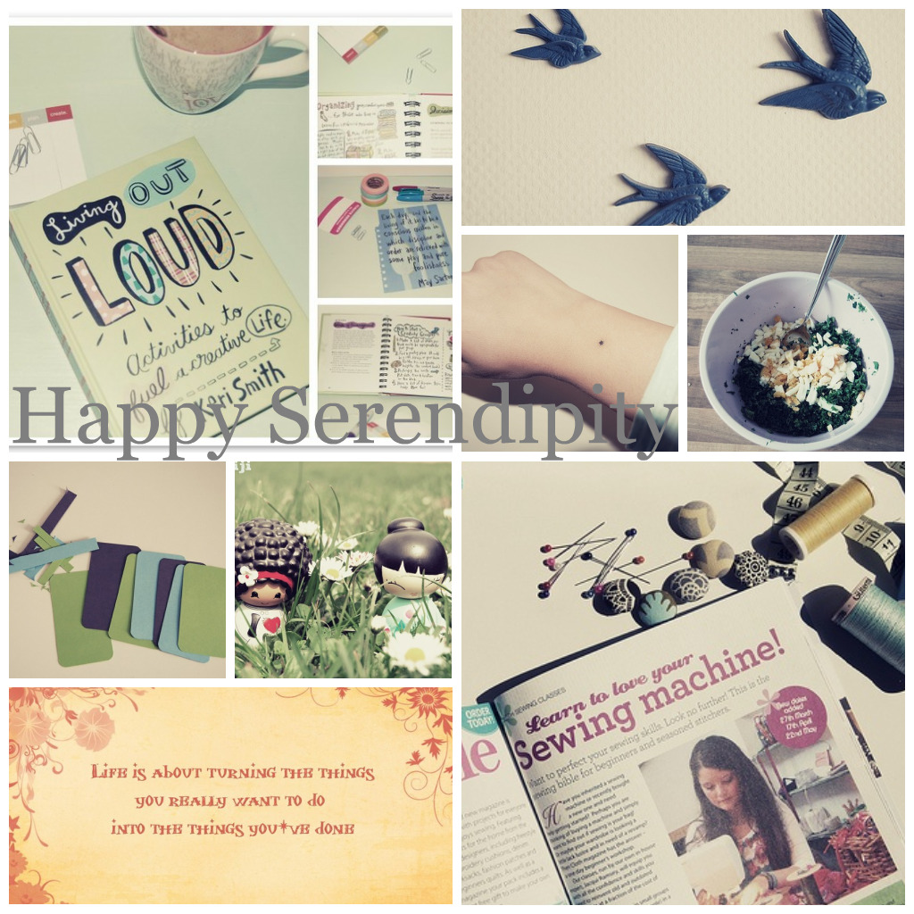 Blog hopping...Happy Serendiptity...