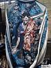 日本の美しさを忘れずに。Suka-Jan Satori (mETALmOMENT) Tags: podcast japan metal tokyo tiger dragons jacket cherryblossoms 東京 calligraphy script moment embroidered satori chiaki hinohara アメ横 スカジャン メタル sukajan 千明 日野原