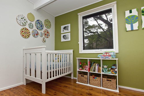 Archie's blue and green nursery