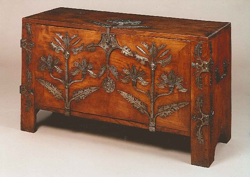 Coffer designed by Fred A Rawlence, about 1905