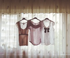 18/52 (seaembraces) Tags: summer window pretty clothes explore frontpage hang blouses