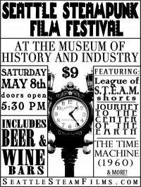 Steampunk Film Festival Flyer