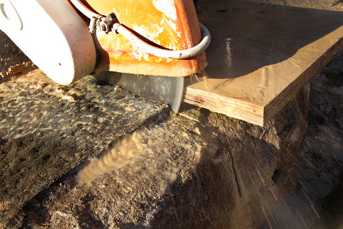 sandstone piers