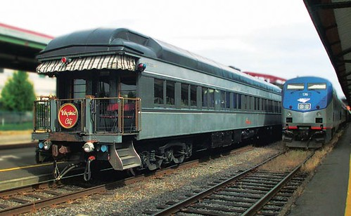 Private Rail Car - Virginia City