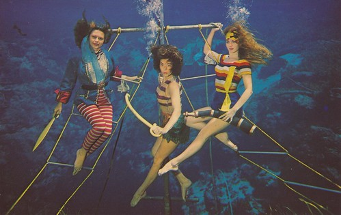 Mermaids and the Pirates - Weeki Wachee, Florida