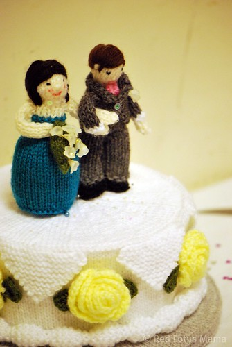 Bride & Groom Cake