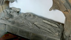 Effigy of priest Aston le Walls