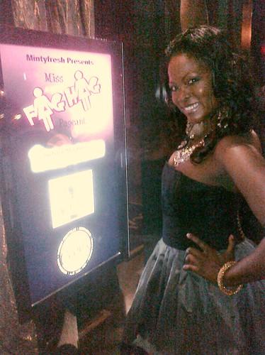 Abiola Abrams, Comix NYC Miss Fag Hag