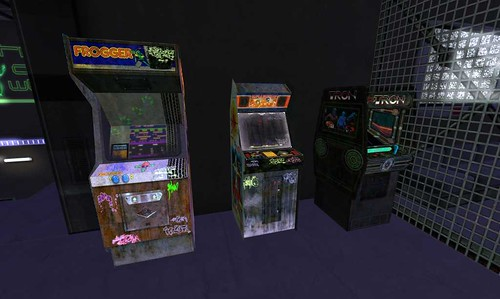 arcade missile machines tron command frogger lightcycles secondlife:y=183 secondlife:x=156 secondlife:resident=torleyolmstead secondlife:z=8 mixoom secondlife:region=revolution