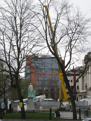 Deconstruction of Belfast Wheel #3
