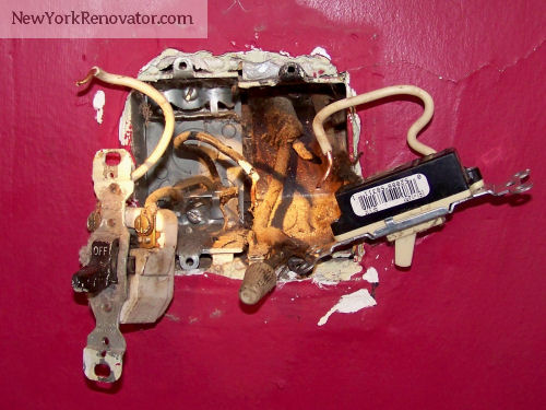 Crazy Old Wiring