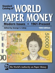 Standard Catalog of World Paper Money Modern Issues 16th ed