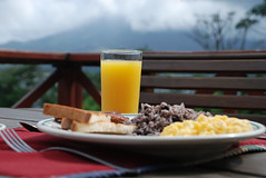Arenal Vista Lodge. Breakfast