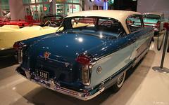1957 Nash Ambassador 2d htp - Pacific Blue Solitaire Blue Frost White - rvr