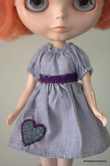 Embellished Peasant Dress by me!