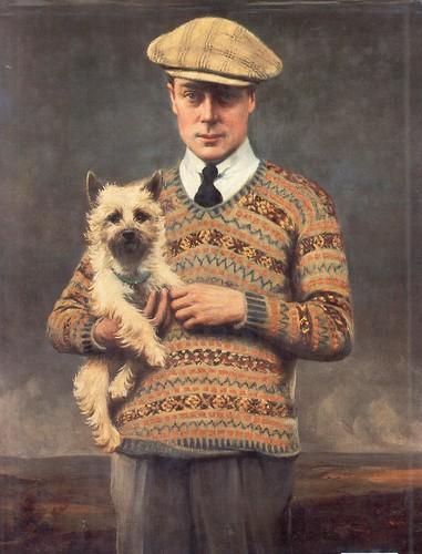 Duke of Windsor in fairisle
