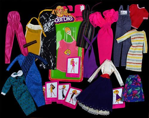 Barbie Fashions 1981