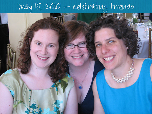 celebrating friends