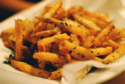 parm truffle fries extra crispy