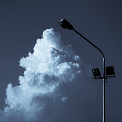 foam lighting (-dubliner-) Tags: cloud lamp streetlamp dubliner
