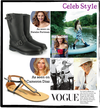 Celeb Style: Cameron Diaz & Natalie Portman