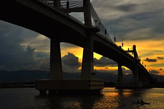 cebu mactan bridge 2 (Rhannel Alaba) Tags: bridge 2 photography lights nikon low cebu mactan d90