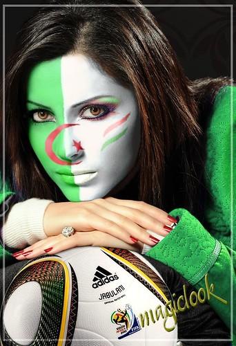 Nesrine Tafesh.. Algerian's fan