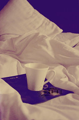 Relaxation.. (- M7D . S h R a T y) Tags: cup relax bed soft tea relaxation wordsbyme of ®allrightsreserved™