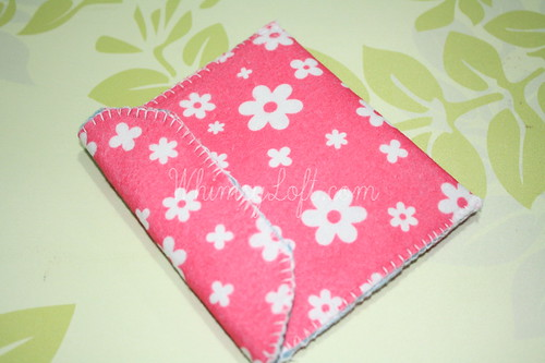 Tutorial : Simple Felt Purse 13