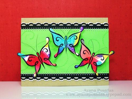 Nail Polish DeNami Butterflies (1)