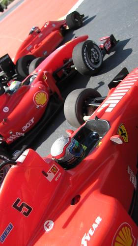 3 gerações de Ferraris - F60, F310B, F156 by ac75d