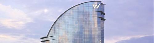 La cúpula del W Barcelona