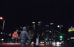 Night Life (airencracken) Tags: film 35mm la losangeles kodak 135 february portra kodakportra160vc littletokyo 2010 emulsion c41 160asa kodakportra leicam3 prolab 160iso airencracken swanlabs 2132010