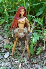 wildcole071 (Lisa/Alex's doll) Tags: girl face fashion out model amazon dolls princess nu odd gabrielle warrior behavior xena royalty colette nuface