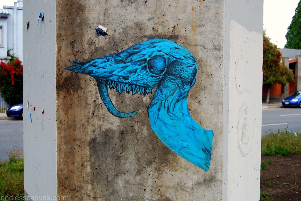 ATWA Street Art Oakland CA.