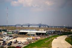 Huey P. Long Bridge (Damian Synnott) Tags: clouds mississippi louisiana neworleans brigde d3000 damiansynnott