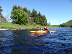 kayak touring river spey 31 may 2010