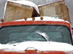 Those Were The Days (shelshots) Tags: winter snow ice truck wind freeze blizzard chill shelshots