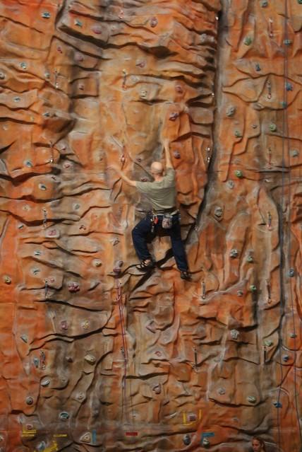 Idrettsanlegg - klatrevegg