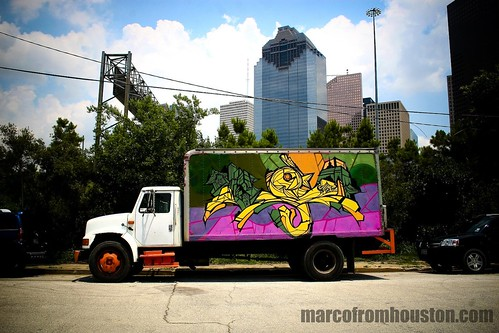Weah Truck (Houston Graffiti)