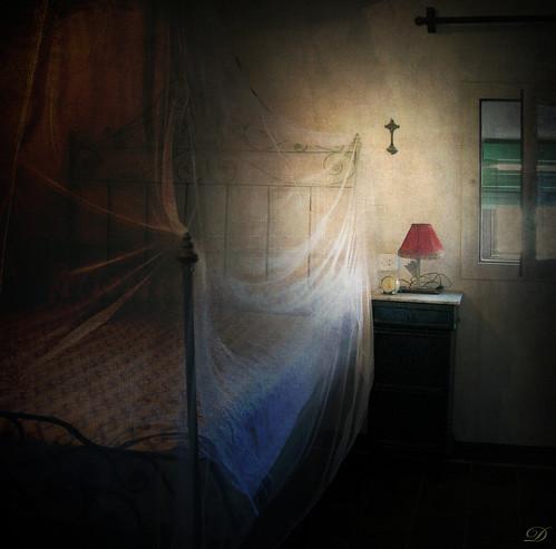 Lampara vermella / Red lamp