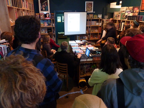 Jim Woodring presents Weathercraft at Fantagraphics Bookstore & Gallery, May 22, 2010